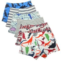 Boy's Boxer Briefs Comfortable Cotton Short Toddler Underwear Set